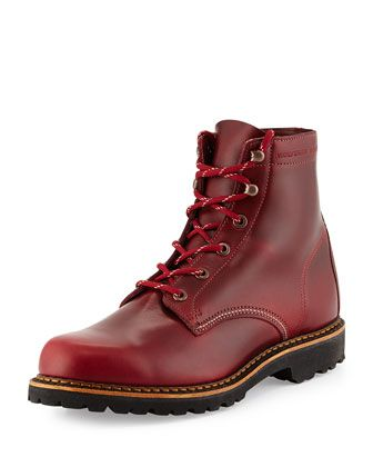 Duvall 1000 Mile Boot, Dark Red by Wolverine at Neiman Marcus.