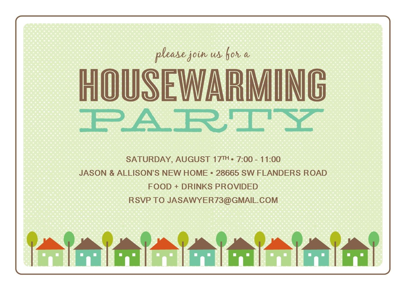 Housewarming Party Invitations Free Template Invitetown