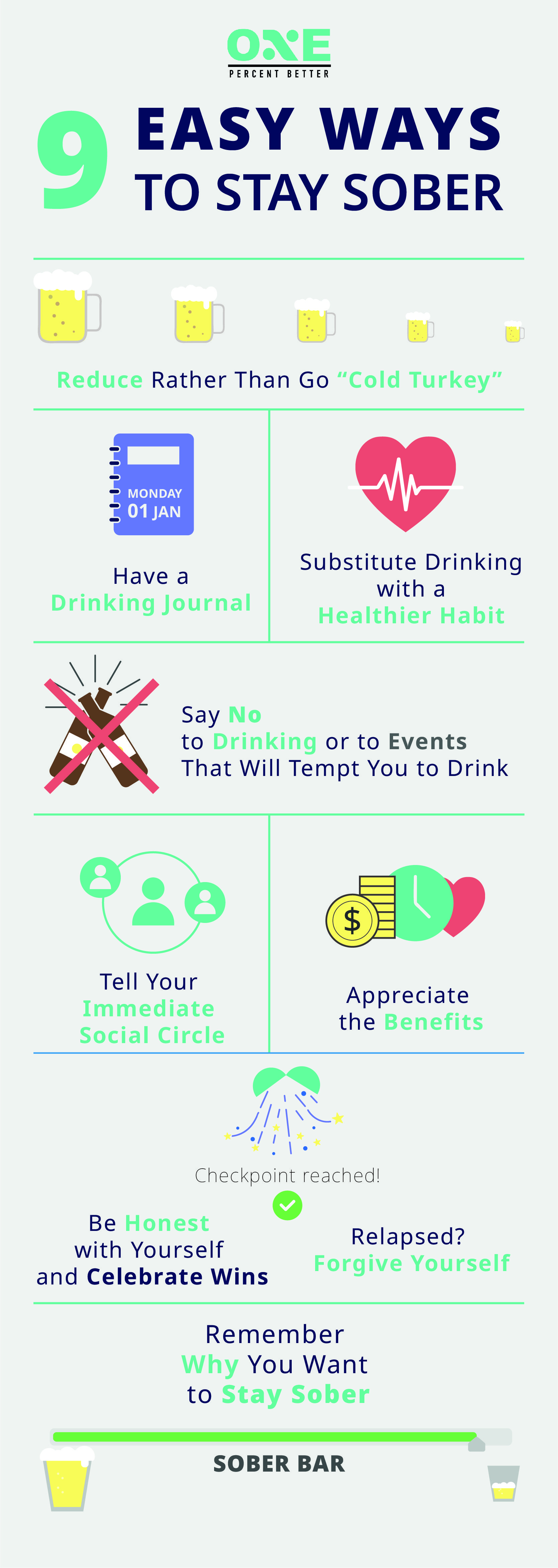 How to stop drinking alcohol for good 9 easy ways to stay