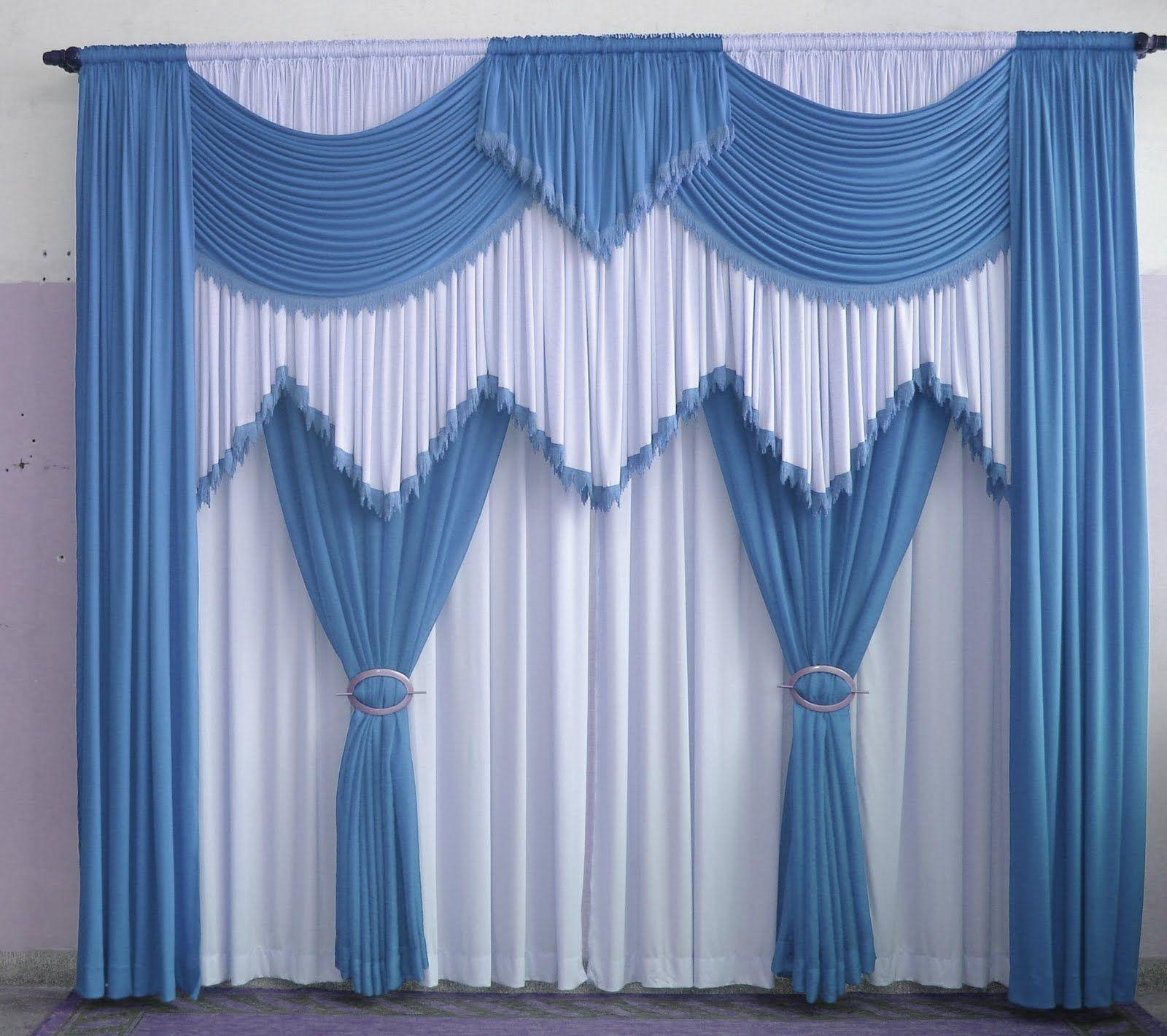 Modelos cortina 8 cortinas pinterest cortinas - Modelos de cortina ...
