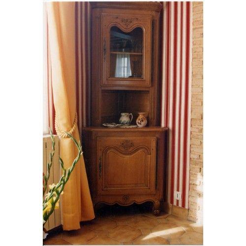 Meuble d\u0027angle Style Louis XV Pinterest