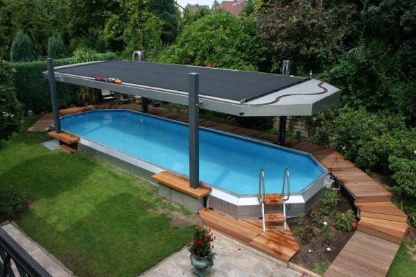 solarabsorber von roos gartenbau projekte pool selber bauen pool im garten und garten. Black Bedroom Furniture Sets. Home Design Ideas