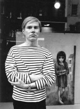 Margaret Keane and Warhol
