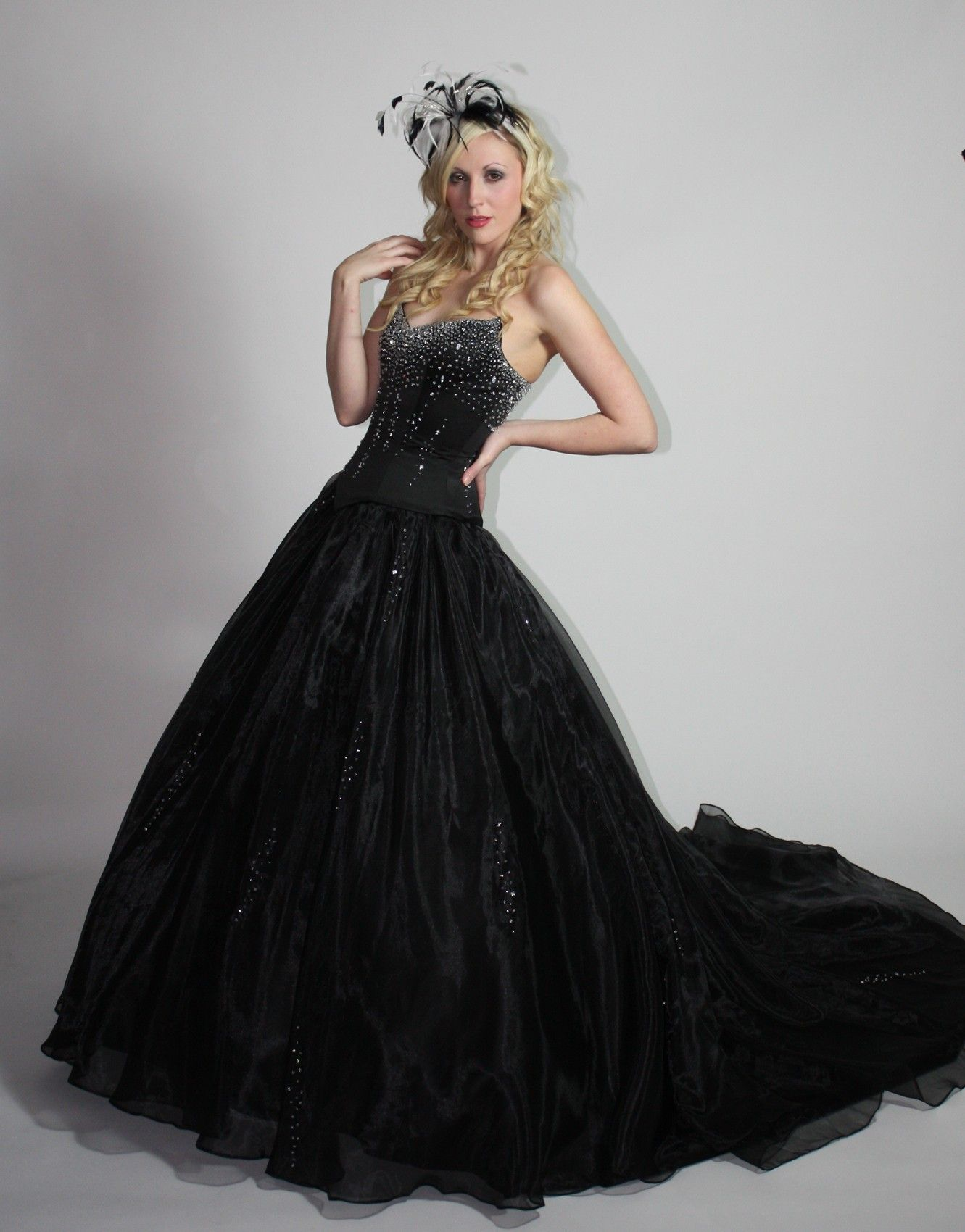 Awesome Black Gothic Wedding Dresses Fantastic Ideas In