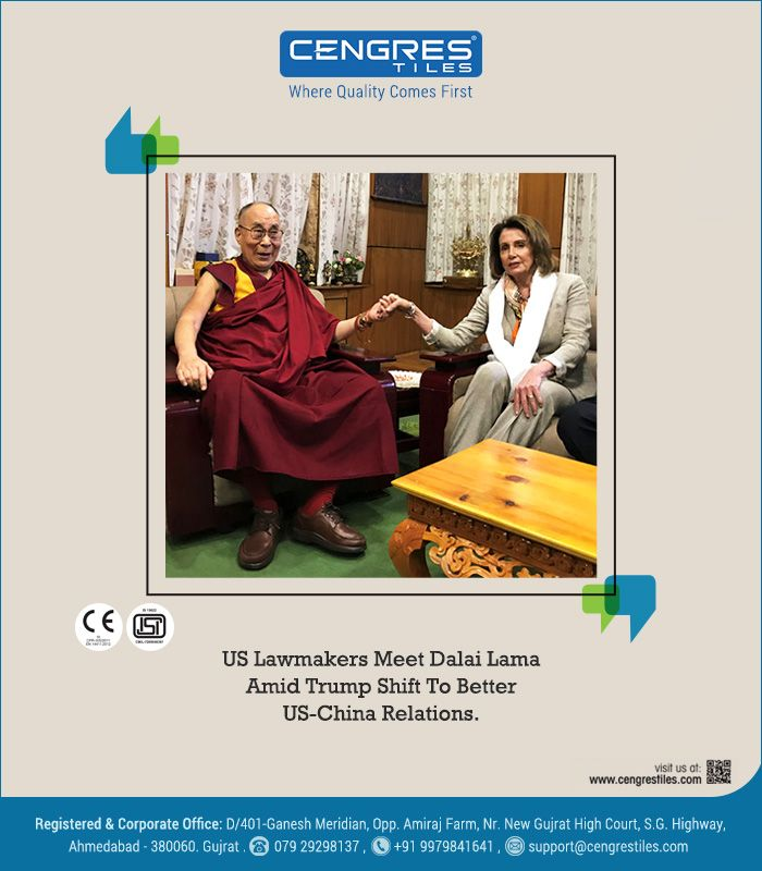 US Lawmakers Meet Dalai Lama amid Trump Shift to Better US-China Relations..!!