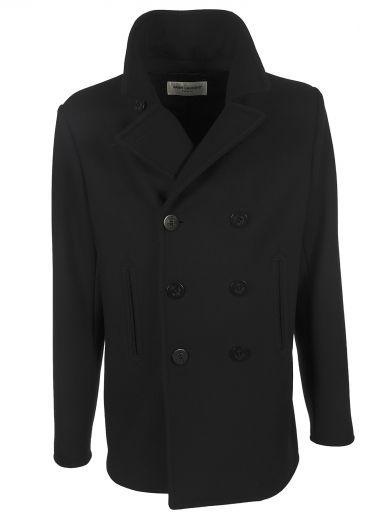2239df4b2f SAINT LAURENT Sain Laurent Marin Caban Jacket. #saintlaurent #cloth ...