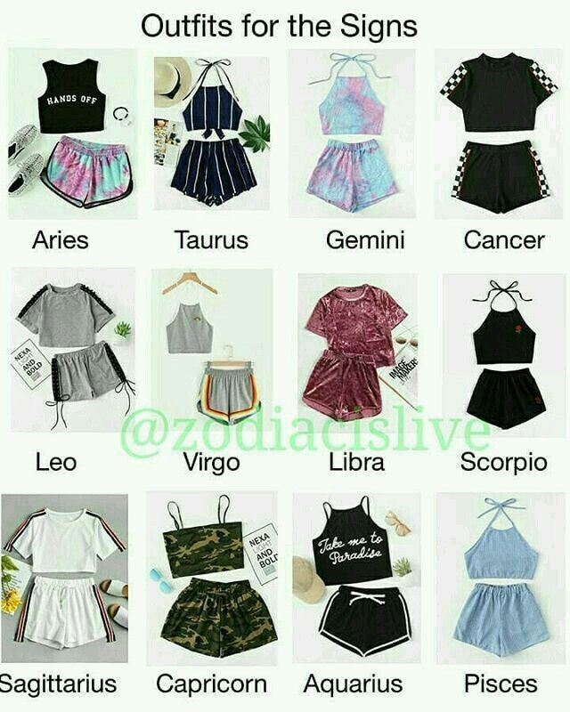 Zodiac Signs Outfits Dresses ` Dresses Zodiac Signs