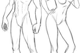 Image Result For Full Body Reference Anime Body Reference Superhero Art Projects Drawing People
