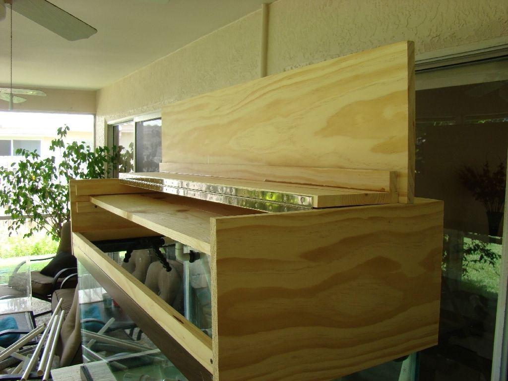 Aquariums · My DIY Canopy Page. Build log of a do it yourself aquarium canopy to fit & My DIY Canopy Page. Build log of a do it yourself aquarium canopy ...