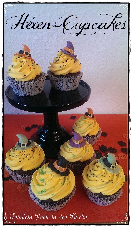 Hexen-Cupcakes  http://fraeuleinpeterinderkueche.blogspot.de/2015/10/hexen-cupcakes.html