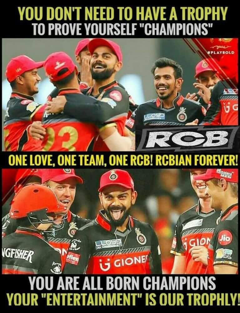 Rcbian Forever Cricket Quotes Royal Challengers Bangalore Brother Quotes Funny