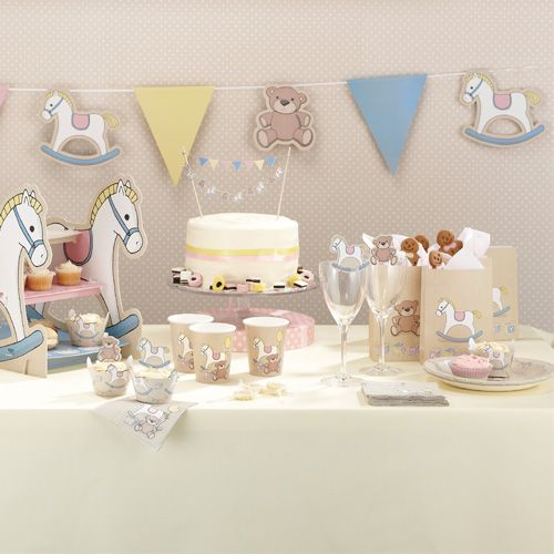 Menaje Y Decoracion Para Un Baby Shower De Todo