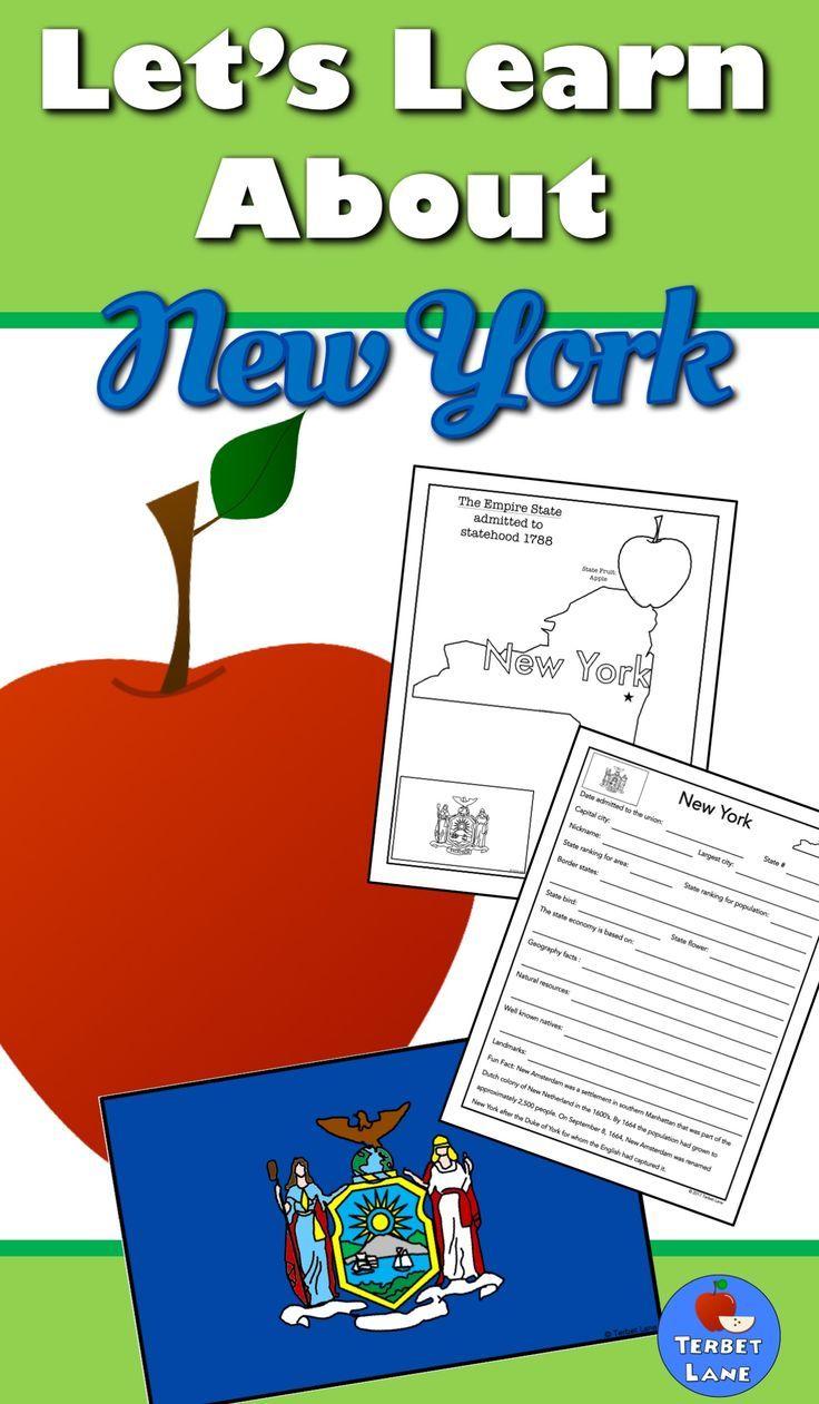 New York History And Symbols Unit Study Pinterest Geography