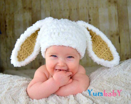 Floppy Bunny Ears Crochet Pattern With Video Tutorial  747304a0b8b8