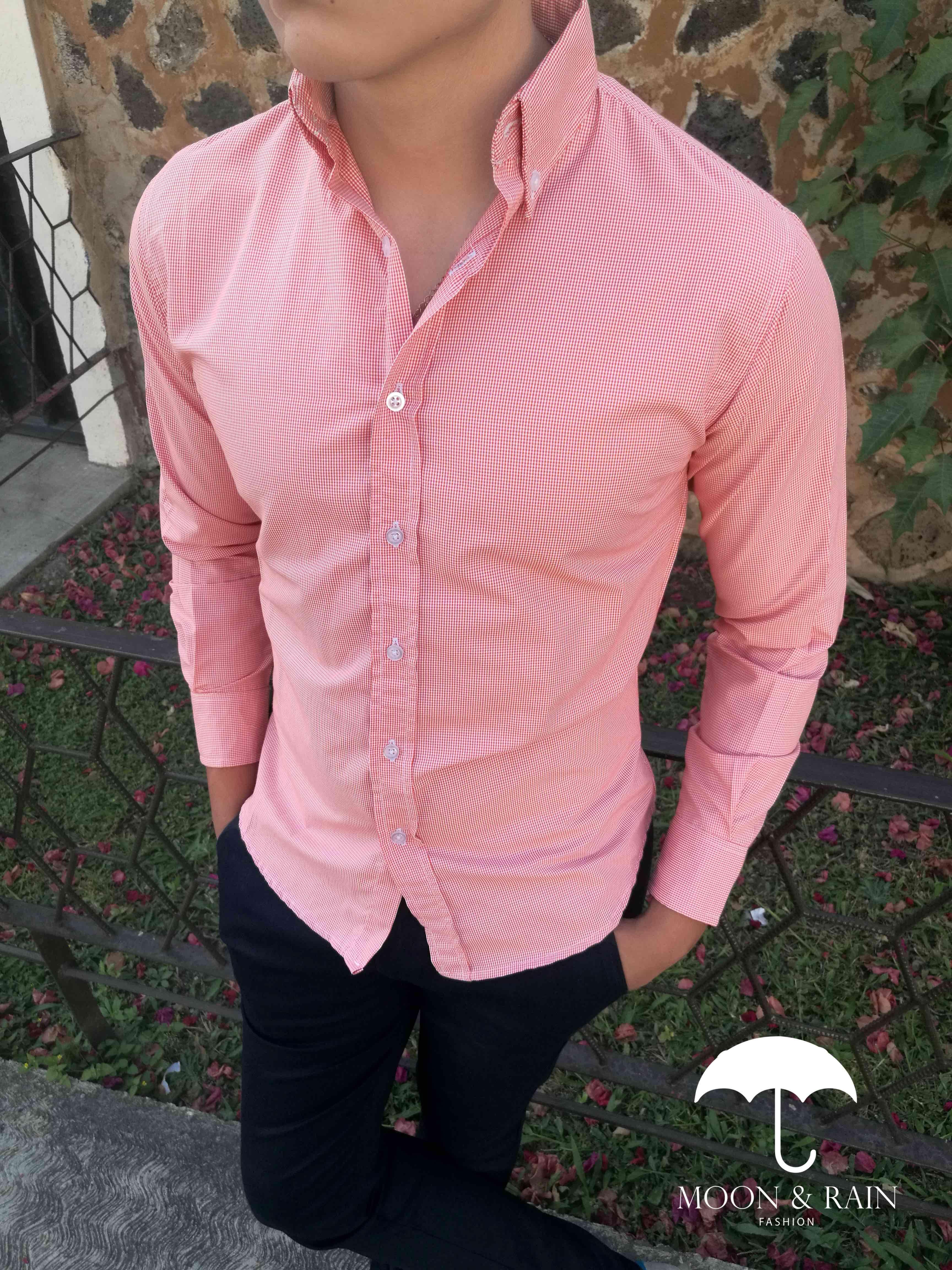Ropa para caballero ideal para una ocasión casual, camisa mini ...