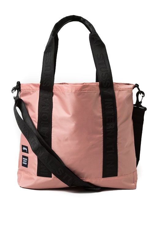 e436c2f4a3f Stussy x Herschel Supply, Ripstop Tote Bag   PINK IS THE NEW BLACK ...