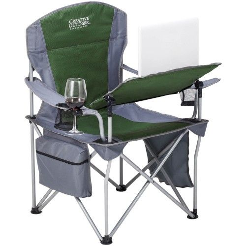 I Chair Folds Up For Easy Transport And Storage Quick Release Adjustable Tilt Table Armrest Mounted Access Outdoor Folding Chairs Tilt Table Portable Chair