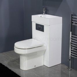 High Quality Manhattan Space Saving Toilet With Sink On Top