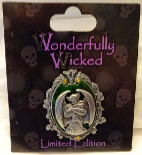 Disney Wonderfully Wicked Chernabog Fantasia Villain LE Pin New On Card $69.99