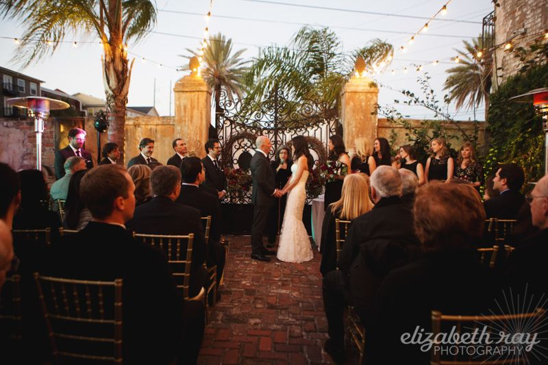 Clandestine Nola Jonathan And Abbey Get Hitched At Race Religious