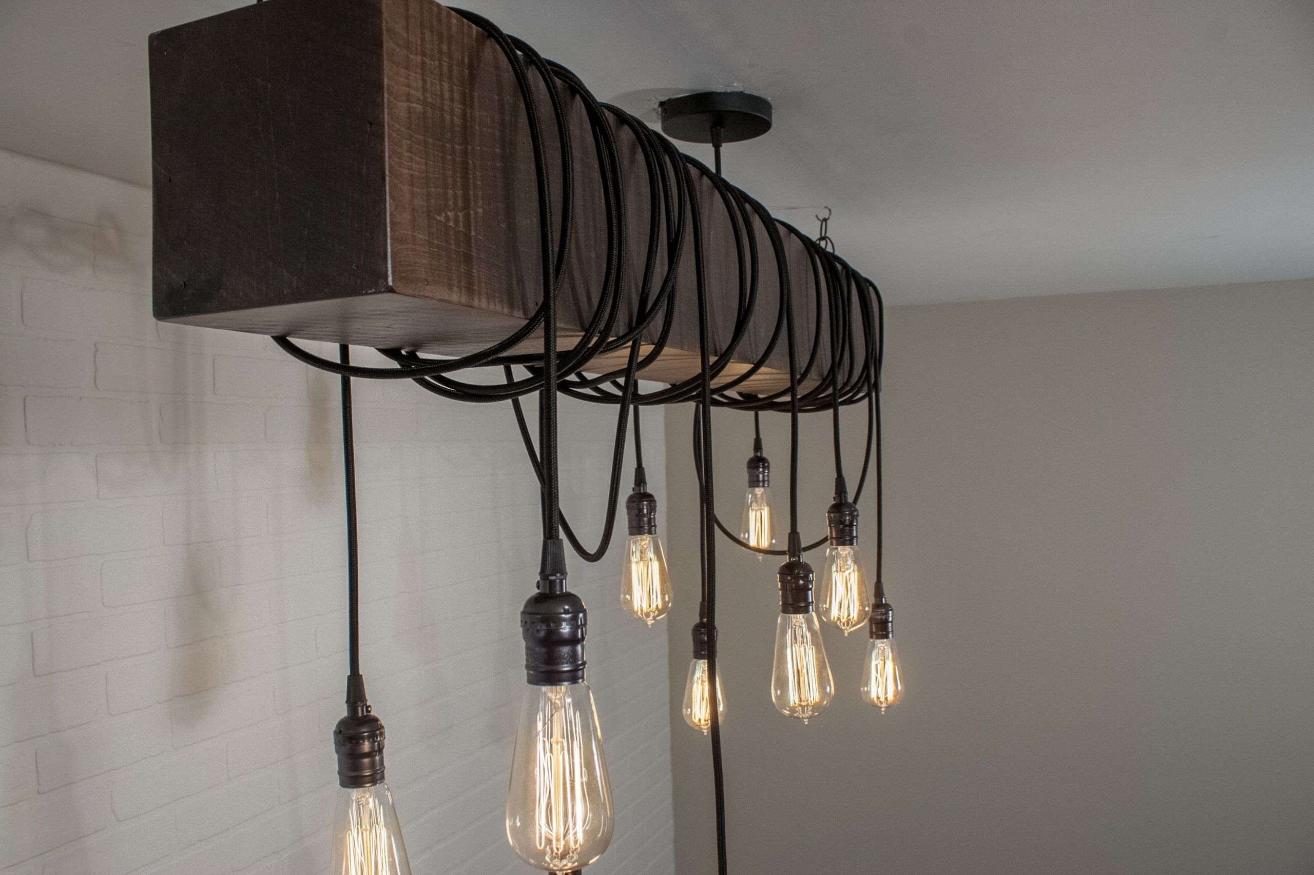 Industrial Bedroom Light Fixtures Lampu Desain Dapur Modern Dapur Rustic