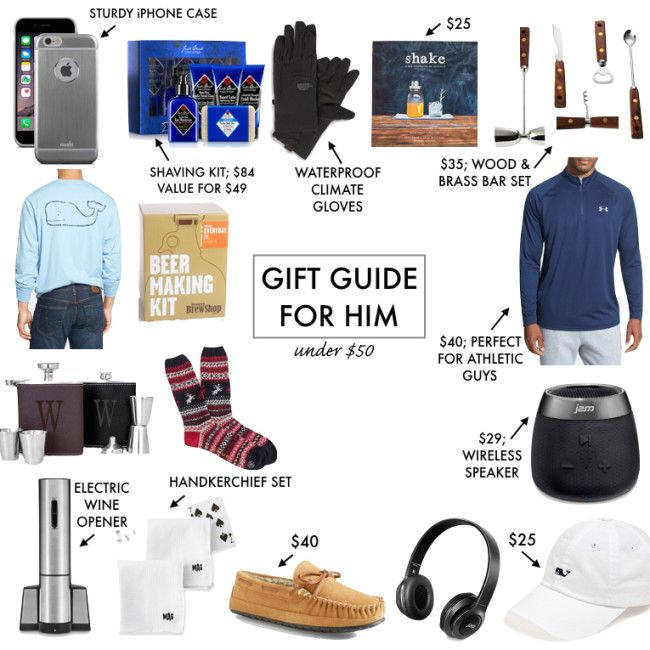 Perfect Gift For Boyfriend For Christmas Part - 19: Gift Guide For Him, Under $50 Gift Guide, Affordable Christmas Gifts, Gifts  For