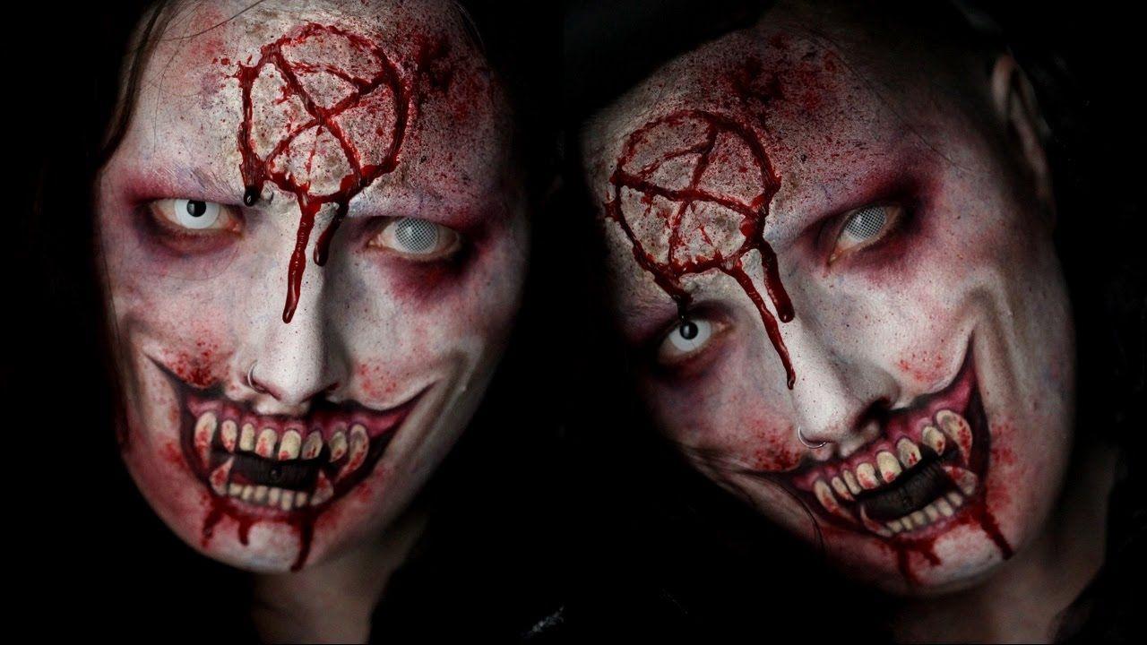 Vampire Special FX Halloween Makeup Tutorial by Jordan