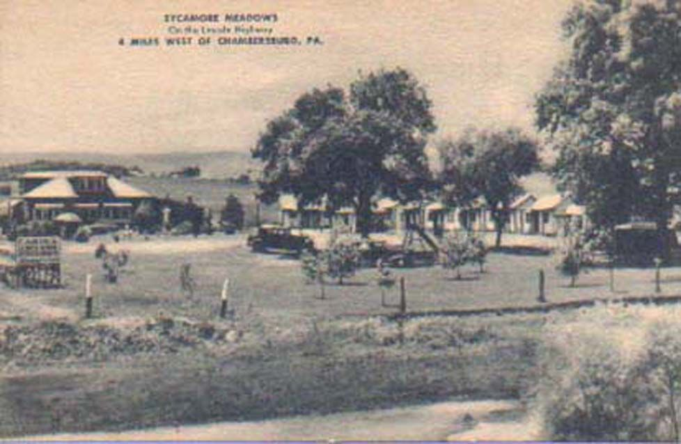 Sycamore Grove was located along US 30, about 6 miles West