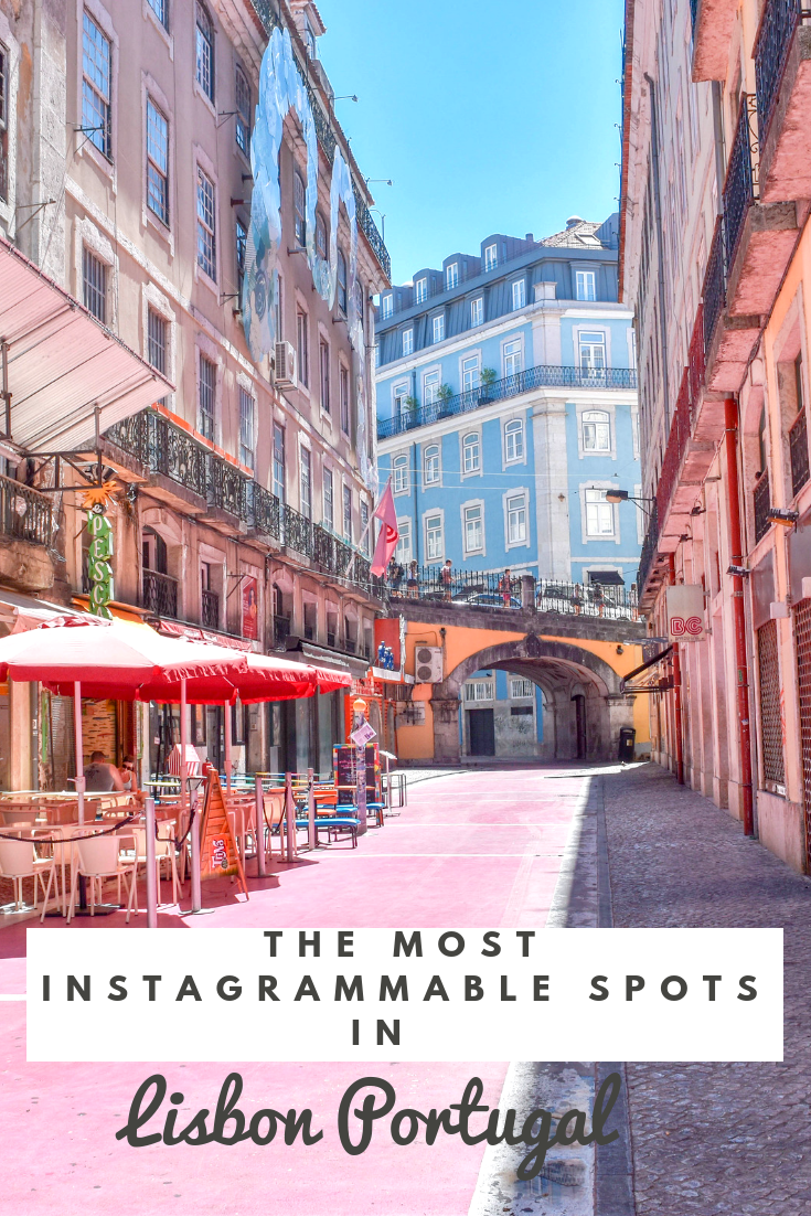 The most Instagrammable Spots in Lisbon, Portugal #traveltoportugal