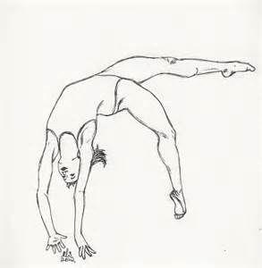 Gymnastics Drawings Of People Bing Images Drawing People Dancing Drawings Ballet Drawings