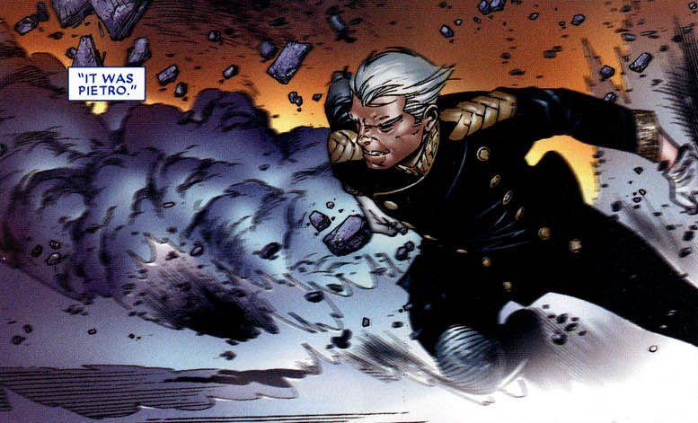 quicksilver comics house of m ile ilgili görsel sonucu