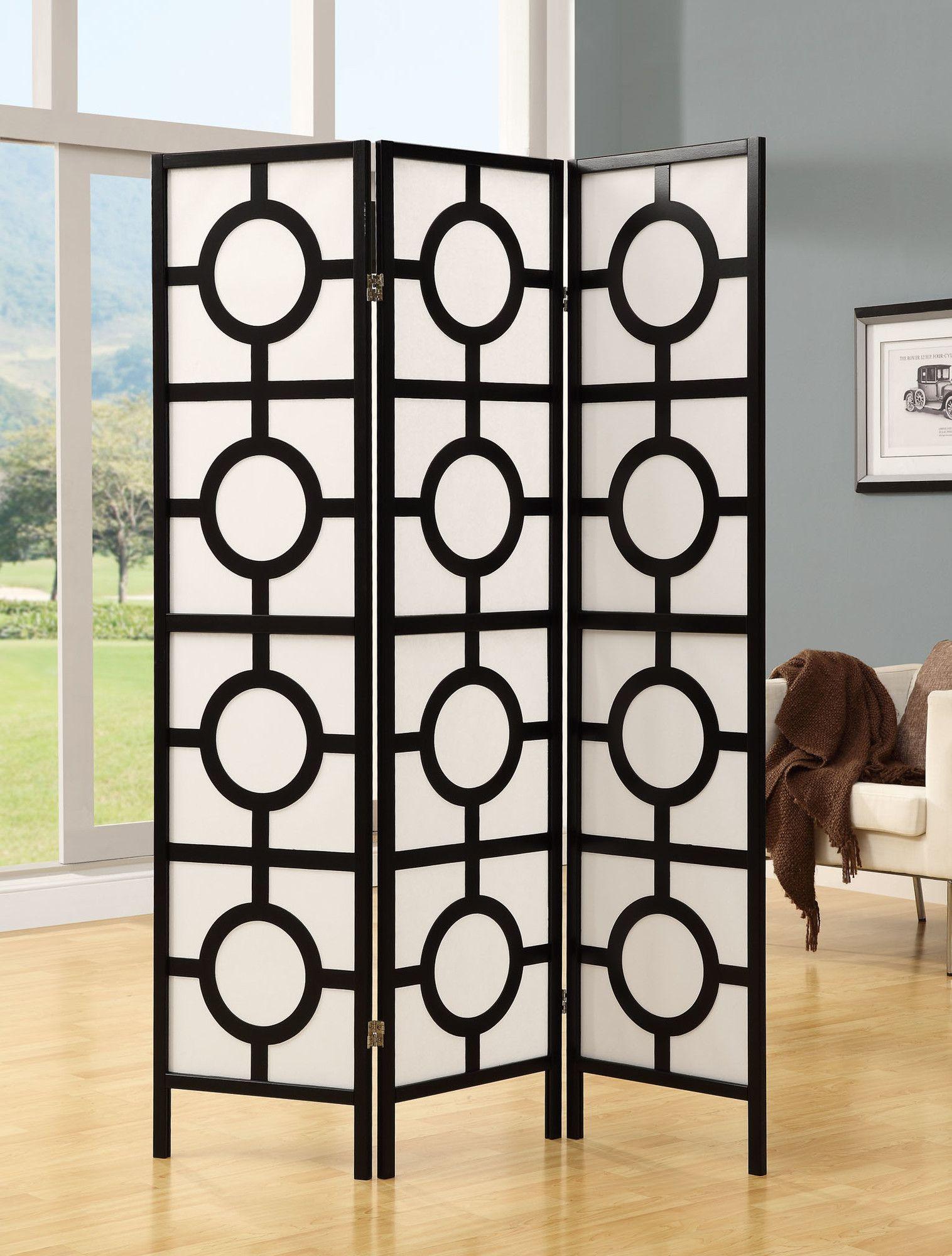 71 X 52 Frame 3 Panel Room Divider Products Room Divider
