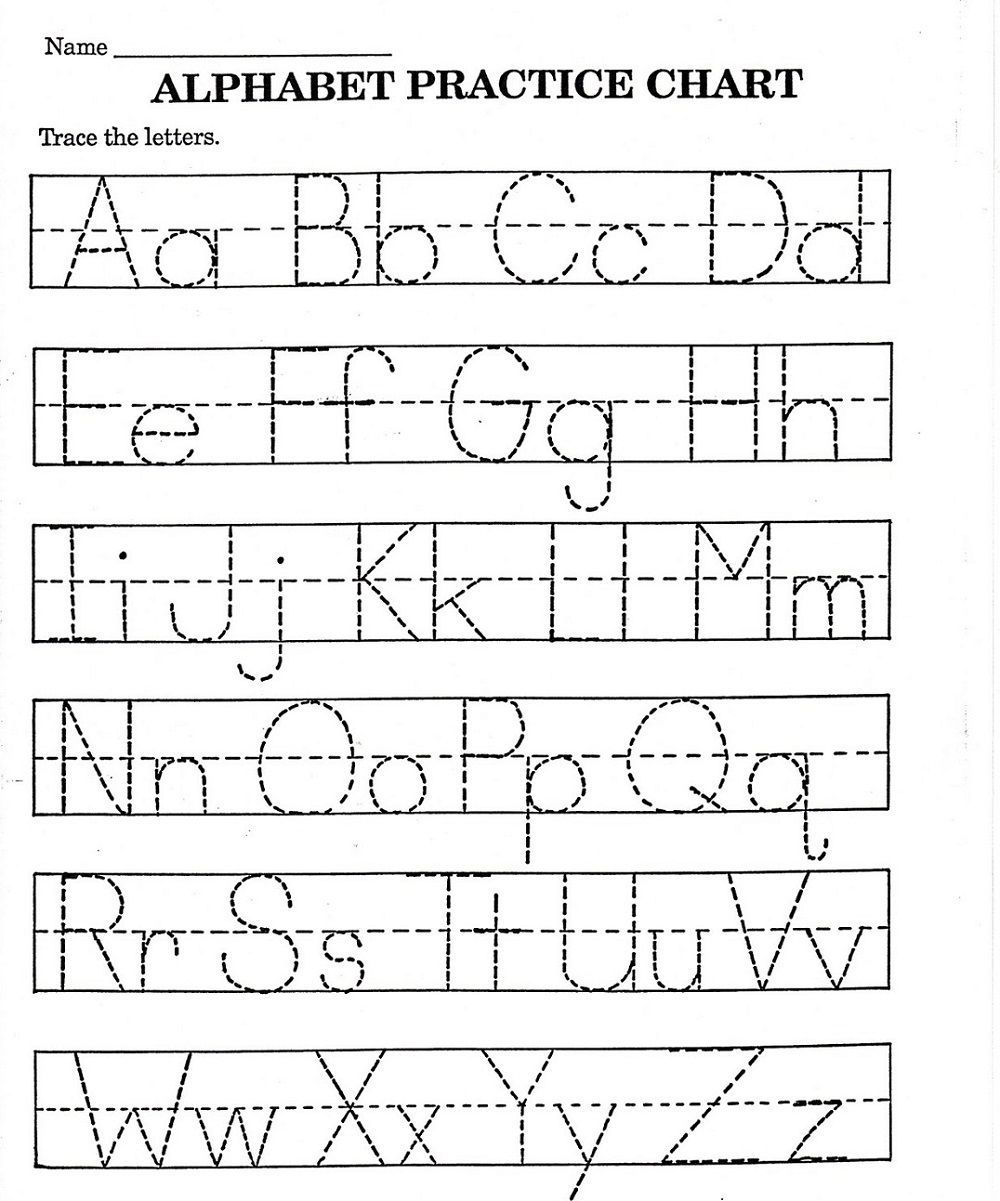 Abc Printable Worksheet For Kindergarten Kindergarten Worksheets Printable Abc Worksheets Alphabet Practice Worksheets [ 1201 x 1000 Pixel ]