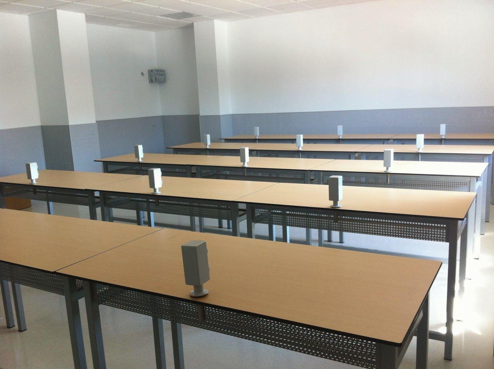 Cada mobiliario pensado en cada alumno