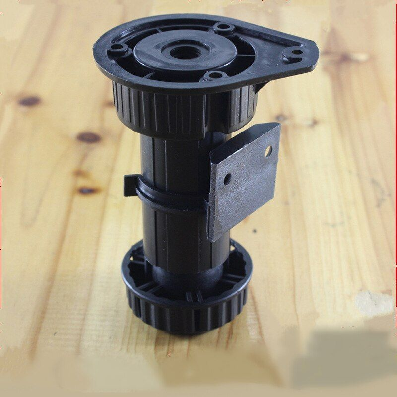 4pcs Adjustable Height Furniture Legs Rubber Feet Plastic Table Legs For Sofa Cabinet Foot Support Furnitur Furniture Legs Plastic Tables Furniture Accessories
