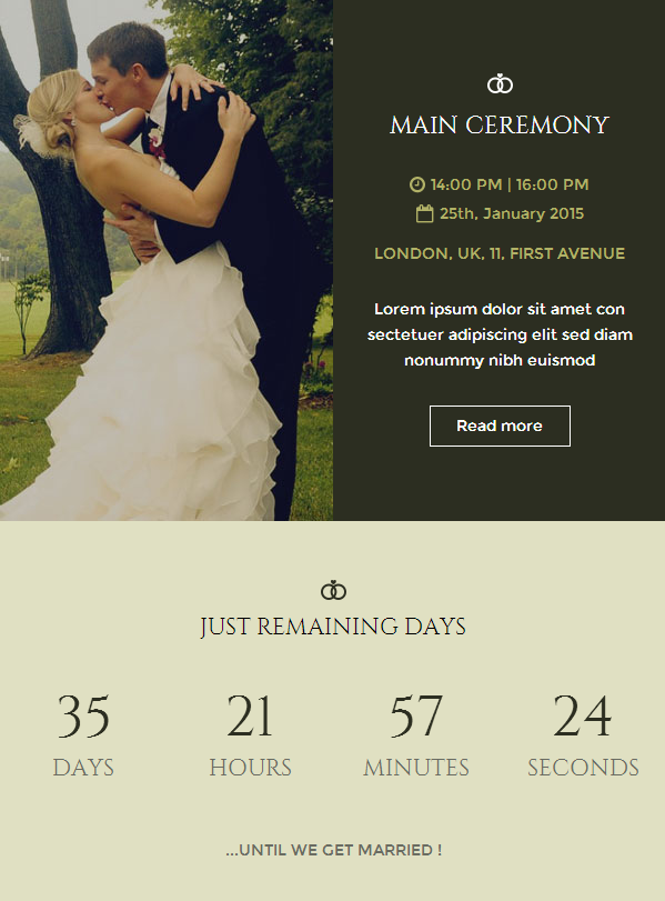 E Invitation Wedding Party Boards