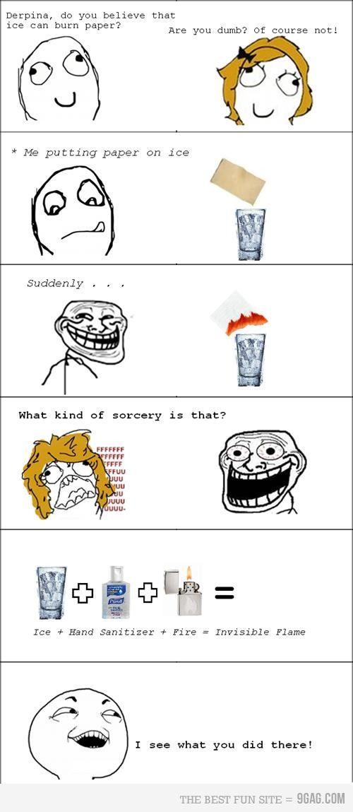 Trolling Lvl Chemistry Funny Comics Memes Pranks