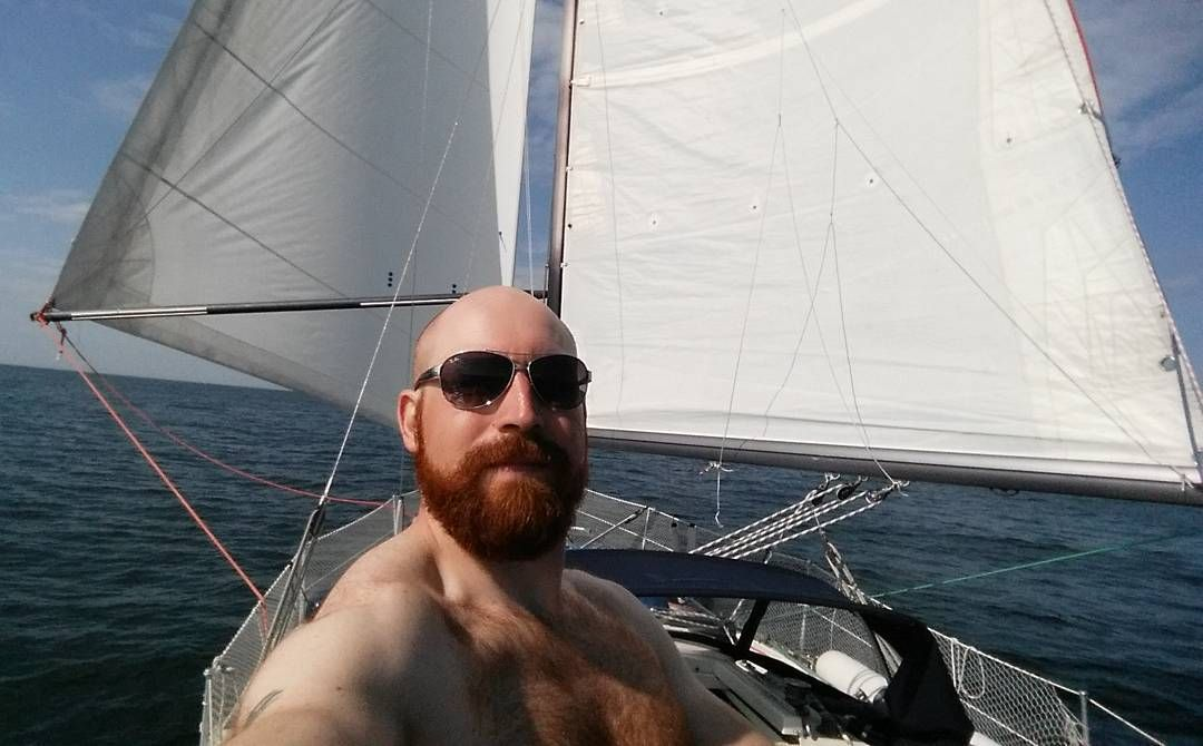Enjoying some downwind sailing in perfect conditions!   #Sailing #downwind #Sailboat #cruising #yacht #kingscruiser #Norway #Summer #boatlife #ocean #Kristiansand #lindesnes  #selfie #nofilter #vacation by naitsirk_elo