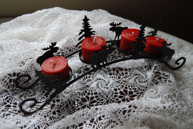 Candles from Beeswax / svíčky ze včelího vosku www.vceli