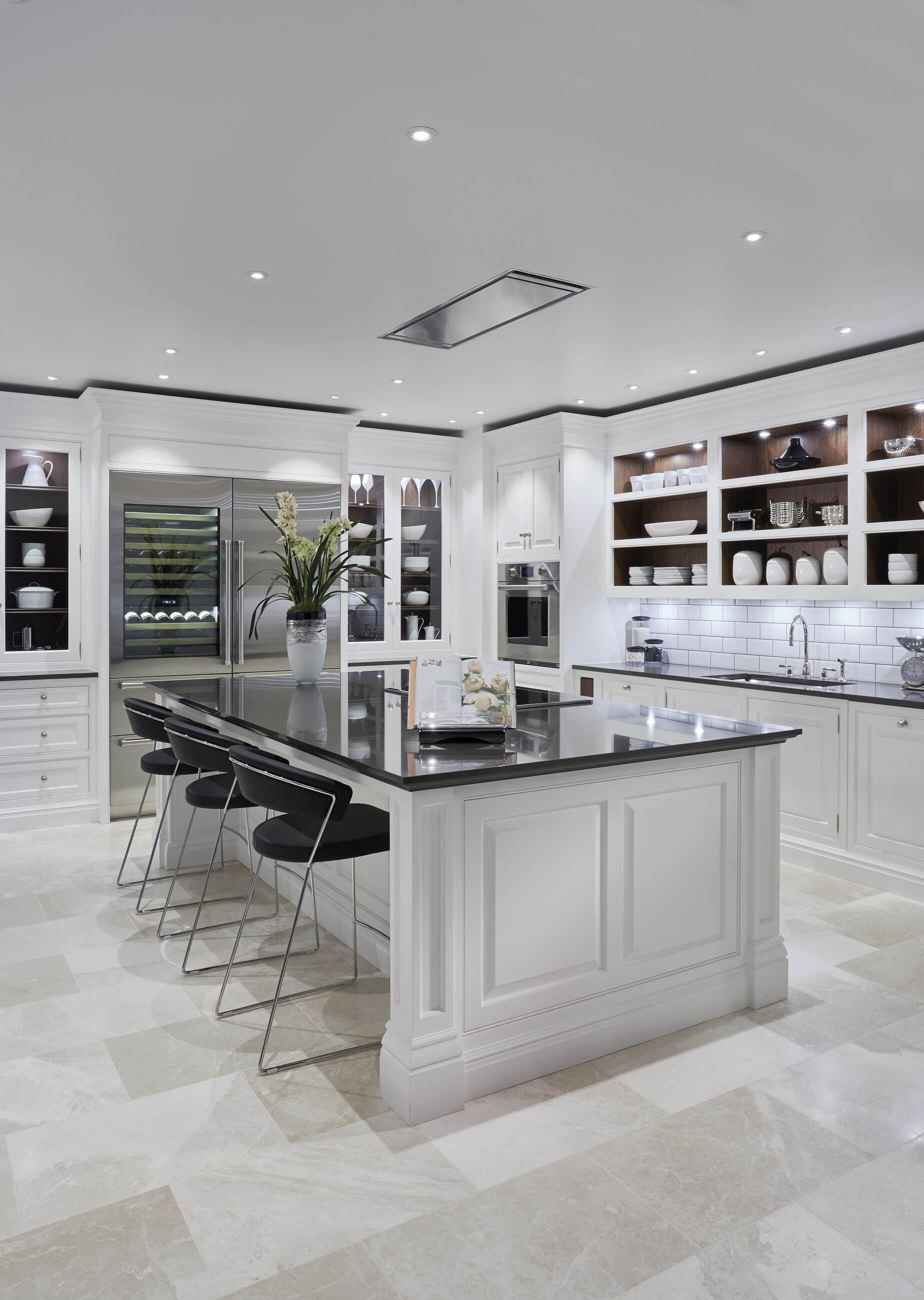 The kitchen island is the centrepiece of any kitchen we have a breathtaking range of kitchen islands and each one is handcrafted bespoke for each project