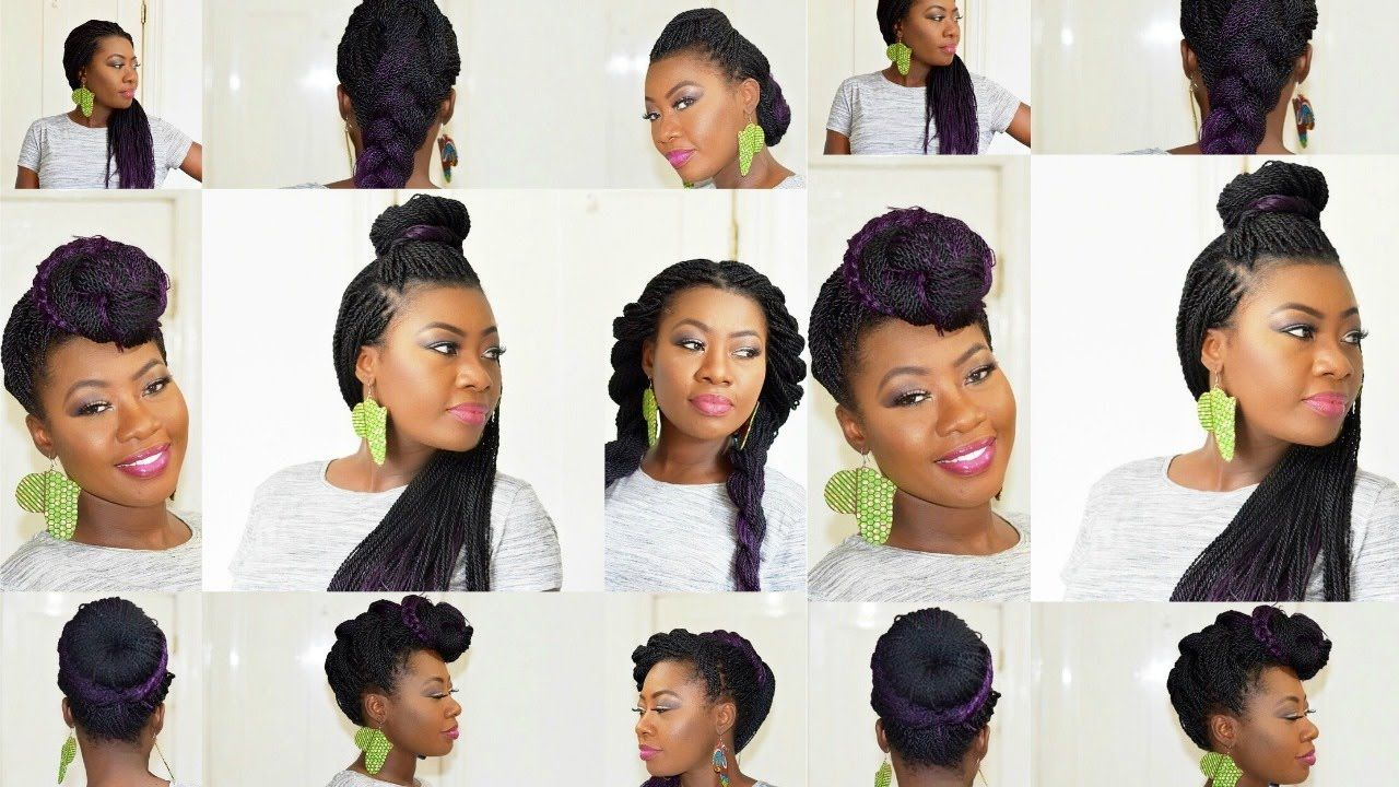 How to Style Senegalese Twist in a minute - 11 Simple Ways to bring ...