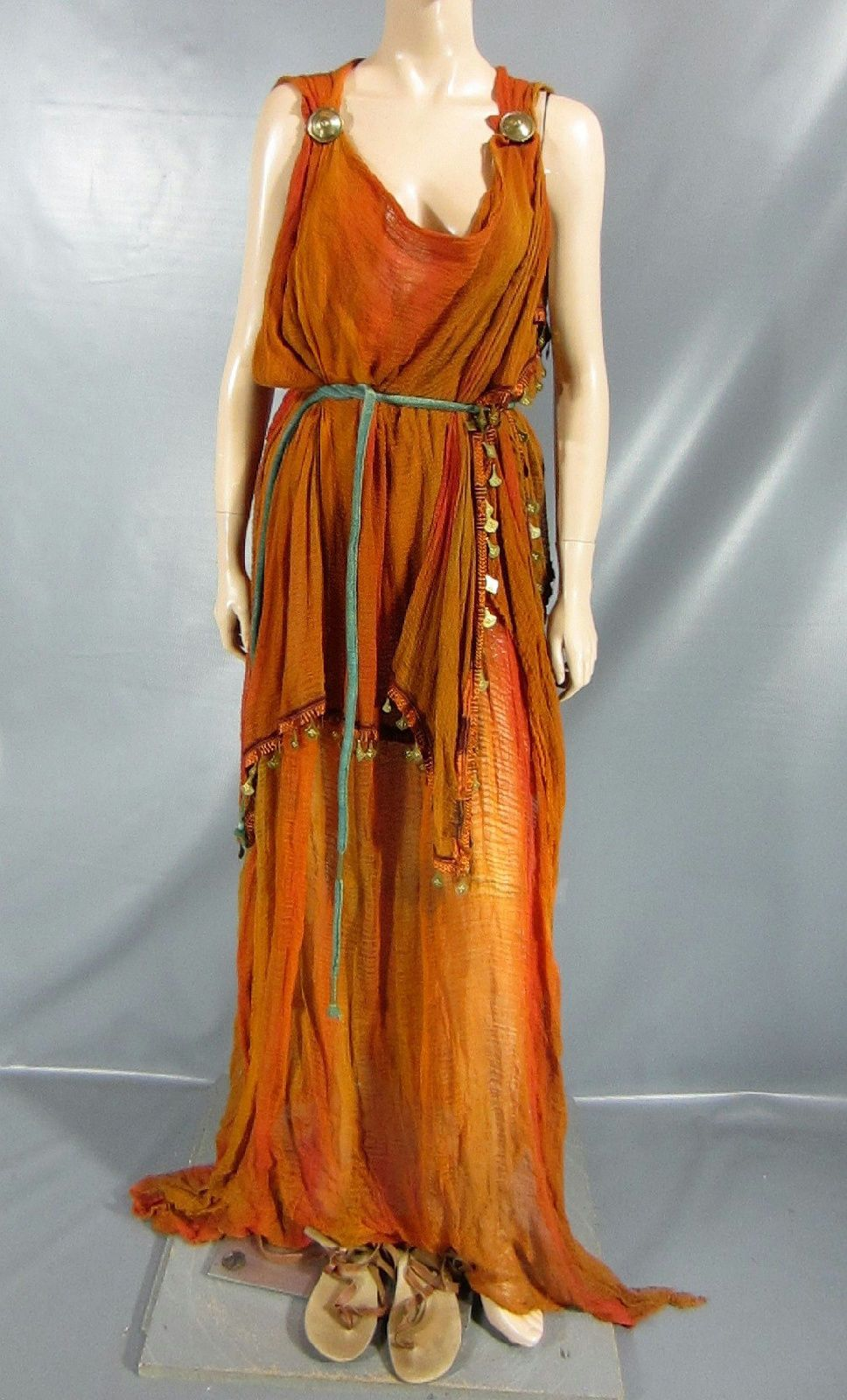 Rome octavia of the julii screen worn dress belt & sandals ep 205 ...