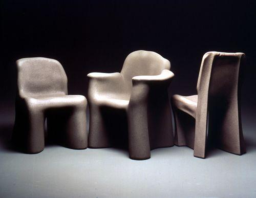 Albatros sedie ~ Gaetano pesce: dalila chair 1980 molded rigid polyurethane