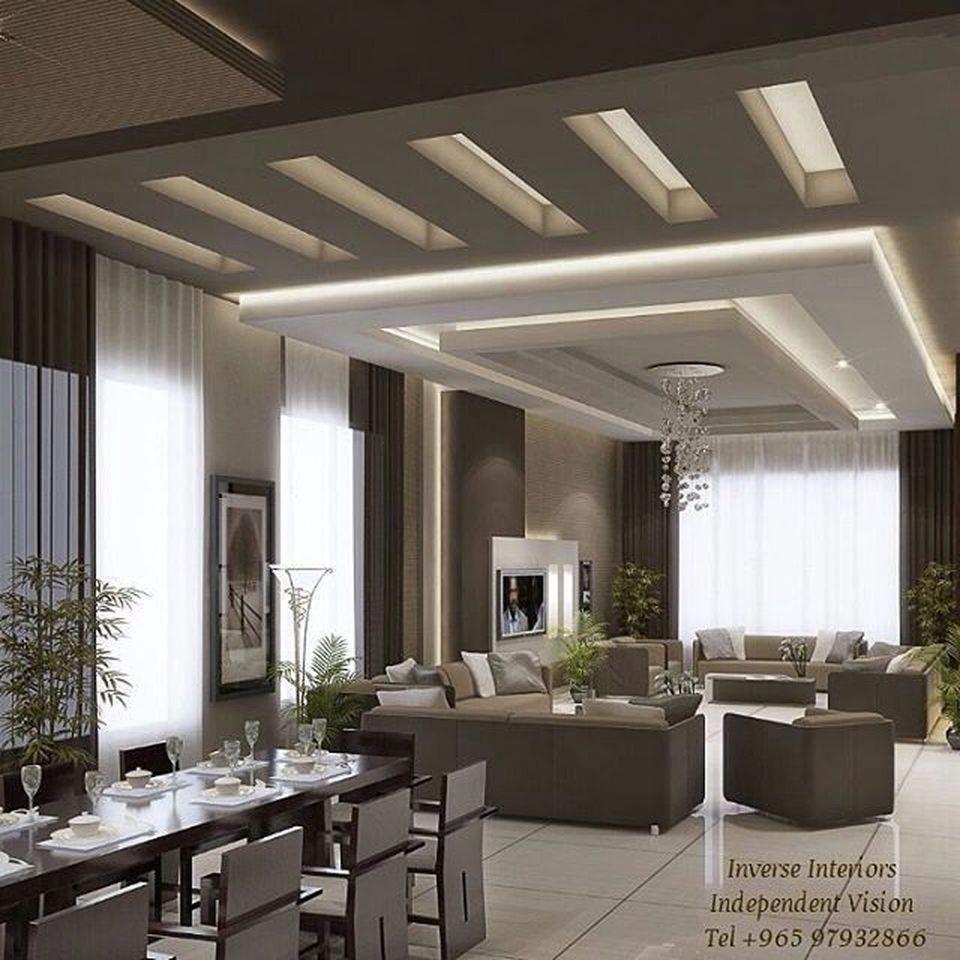 70 Modern False Ceilings with Cove Lighting Design for ...
