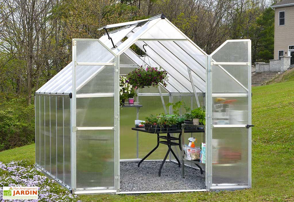 Serre De Jardin En Aluminium Et Polycarbonate Essence 9 M Serre Jardin Serre Polycarbonate