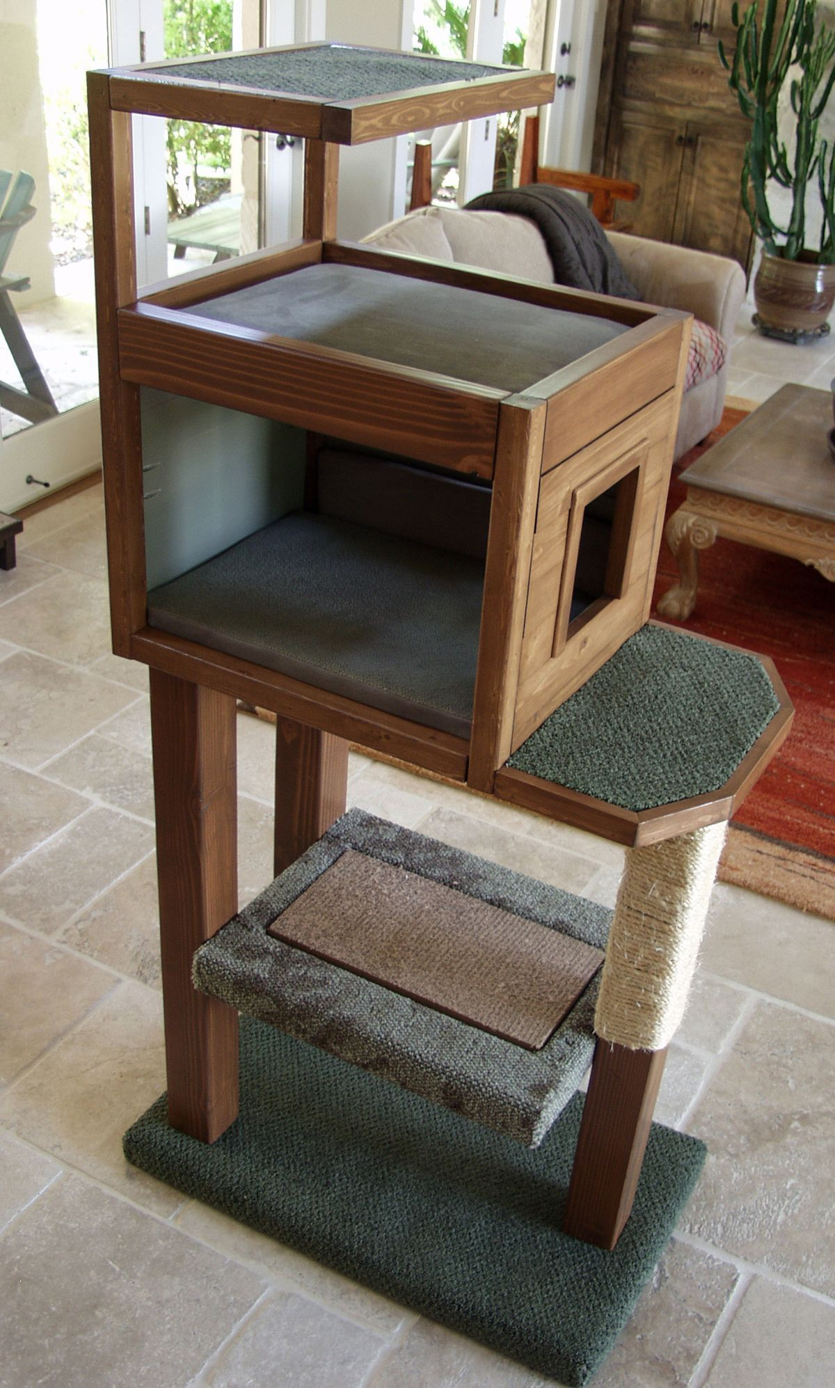 Diy cat tree condo check this useful article by going