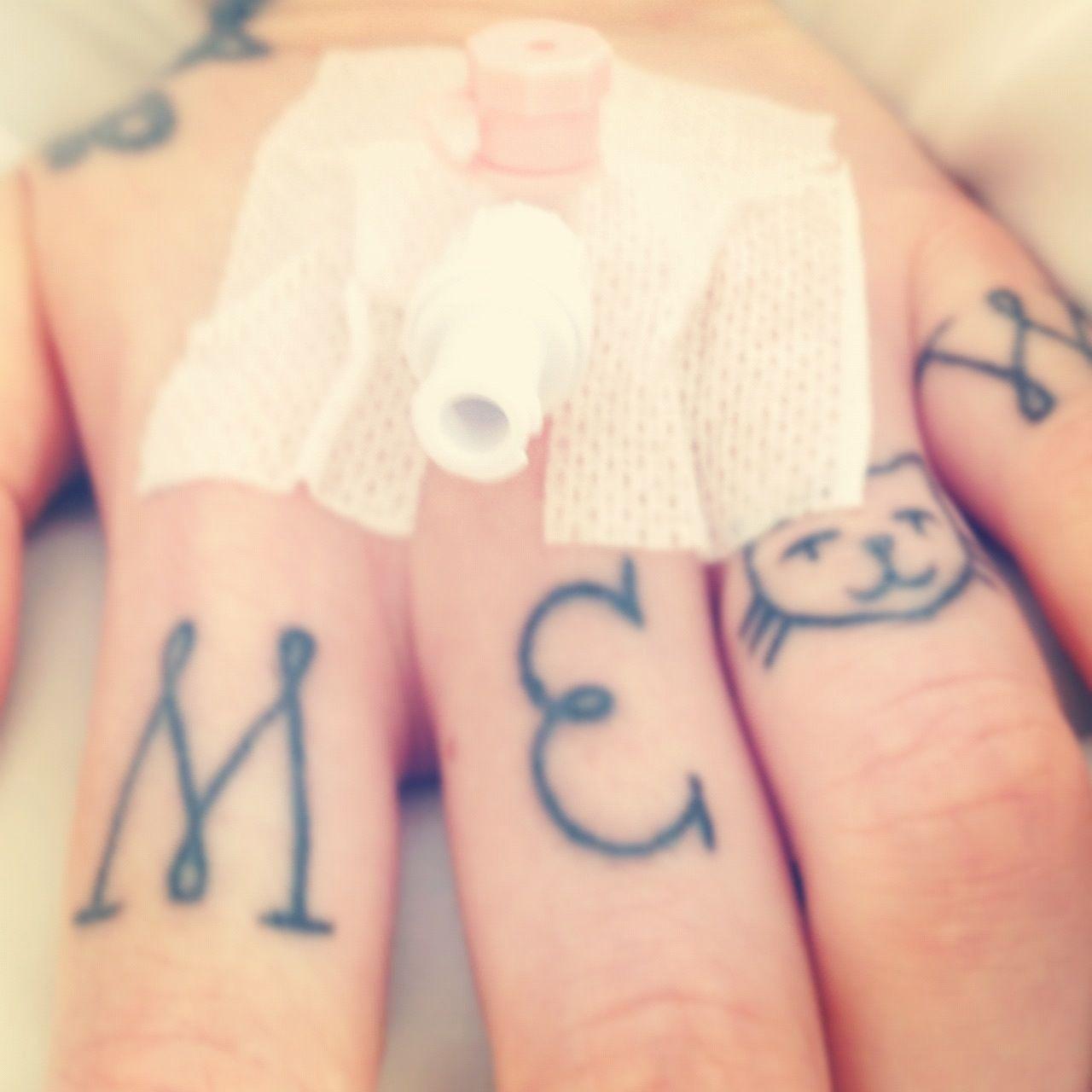 http://tattoo-ideas.us finger tattoo