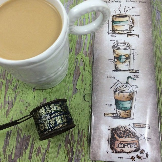 Love coffee and planning check out these tim holtz blueprint love coffee and planning check out these tim holtz blueprint coffee stamps malvernweather Gallery