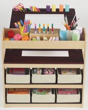 Kids Art Desk With Storage Art Desk Art Desk Art For Kids Kids