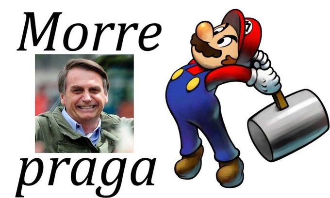 Pin by ♕ ☁️ ј𝐔𝓵ⓘᵃ ♧ൠ on Bolsonaro in 2020 Mario